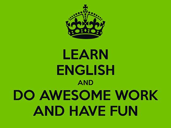А вам нравится изучать английский язык?